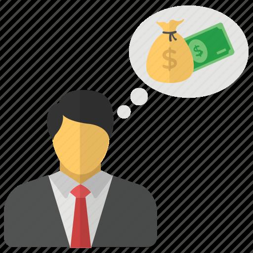 Businessman, accountant, finance person, investor, financier icon - Download
