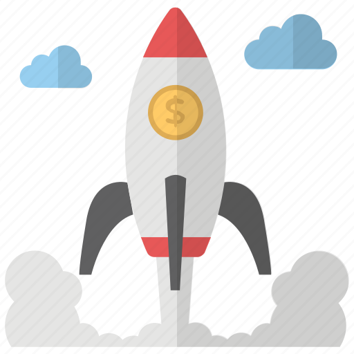 New venture, space rocket, startup, rocket, new business icon - Download