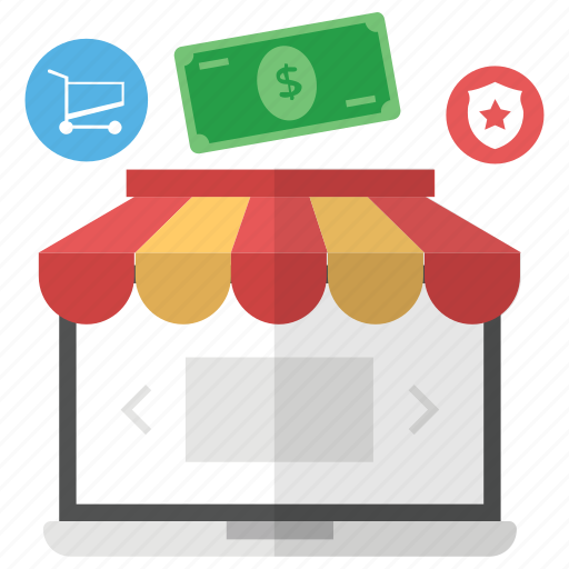 buy online, ecommerce, online purchasing, online shop, online shopping, online store icon
