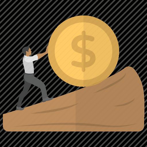 economy growth, financial growth, financial profit, money gain, money growth icon