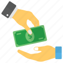 cash payment, charity, fee payment, funds, loan icon