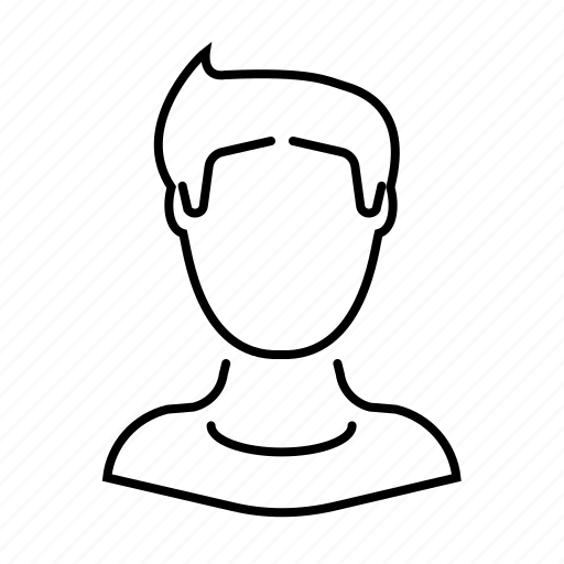account, human, man, person, profile, user icon