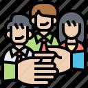 employee, interaction, onboarding, organization, socialization