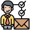 headhunter, hire, personnel, recruiter, resume icon