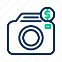 camera, photo, photography, rental icon
