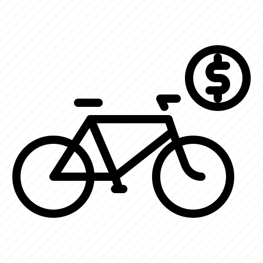 bicycle, bike, cycle, rental, transport, transportation icon