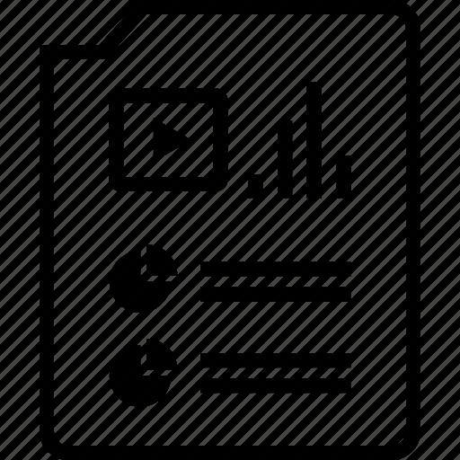 data, online, web, youtube icon