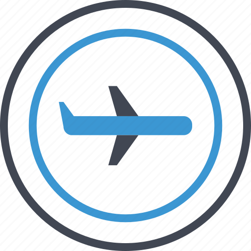 airplane, business, expense icon