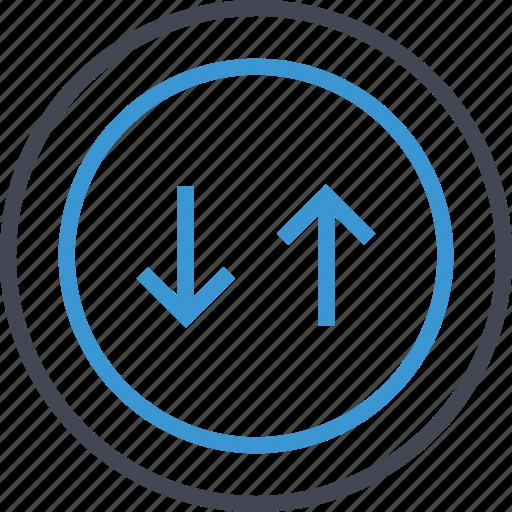 arrow, invest, revenue icon