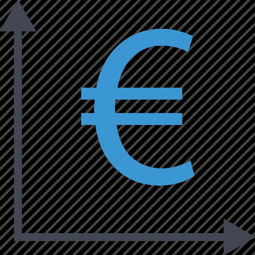 arrows, euro, money, sign icon