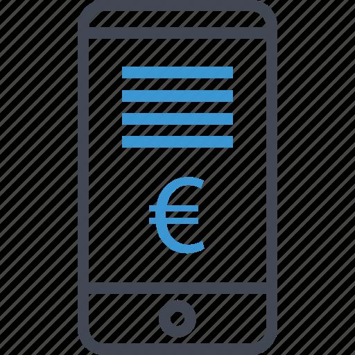 cell, money, phone icon