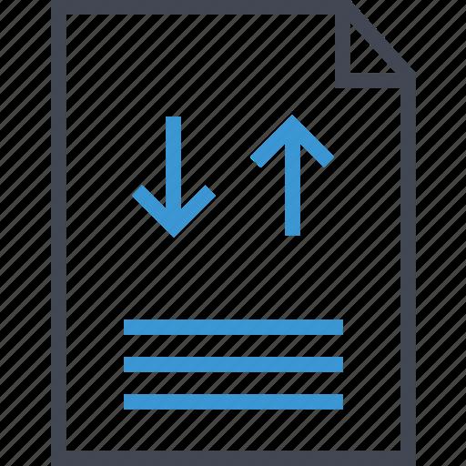 arrows, contract, page icon