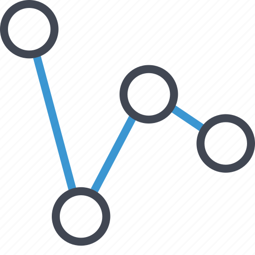 business, data, graph icon