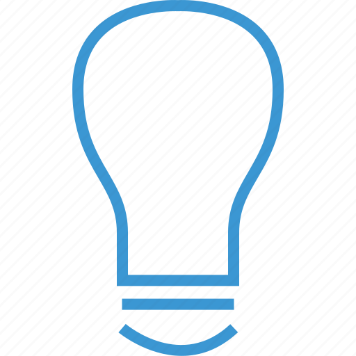 bulb, light, money icon