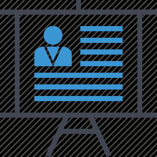 board, money, profile, user icon