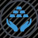 reserve, revenue, standard icon