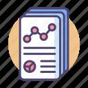 analysis, analytics, data, report, reporting, research, statistics icon