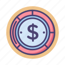 accounting, budget, budget balance, budgeting, dollar, financial, money icon