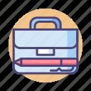 bag, briefcase, lawyer, portfolio, suitcase icon