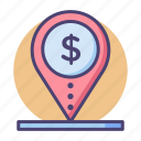 banking, cash, finance, financial, loan, money icon