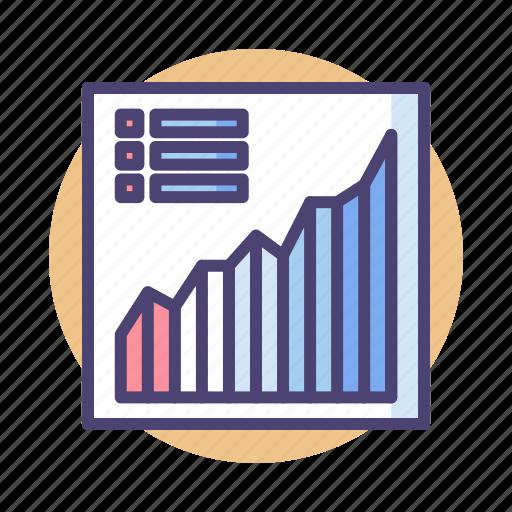 analytics, chart, data, data analysis, data analytics, diagram, graph icon