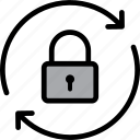lock, padlock, protection, security, shield icon