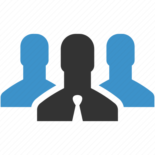 business group, community, men, people, team, users, workers icon