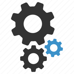 cogs, configure, options, process, settings, support icon