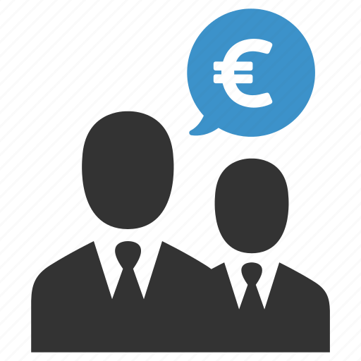 business men, earnings, euro, finance, income, money, salary icon