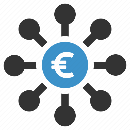 crowdfunding, euro, finance, founding, funds, invest, money icon