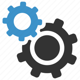 cogs, configuration, gears, options, process, service, settings icon