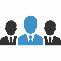 avatars, business, group, men, people, team, workers icon