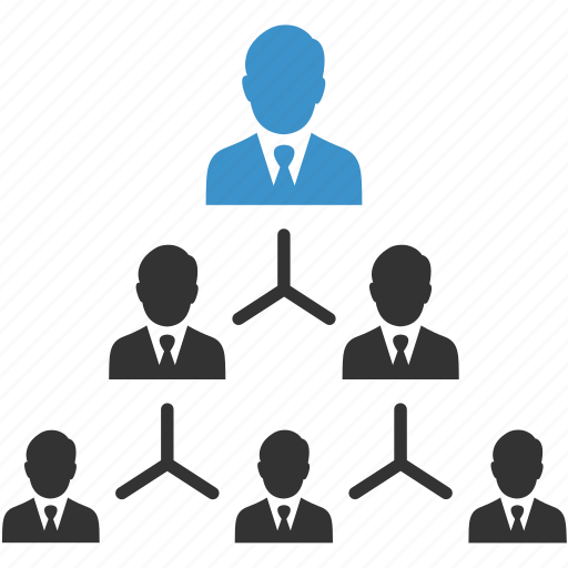 business team, group, hierarchy, manage, management, men, people icon