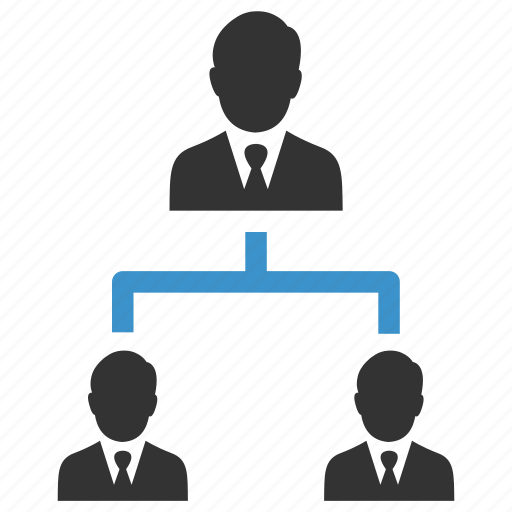 avatars, business men, hierarchy, management, people, team, users icon