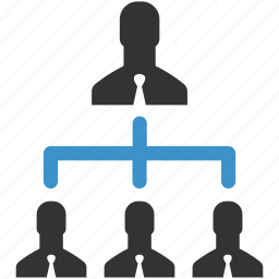business men, business team, hierarchy, manage, management, people, users icon