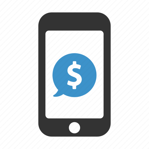 device, dollar, earnings, finance, income, mobile, phone icon