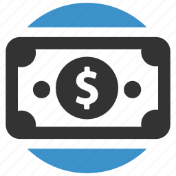 bill, cash, dollar, income, money, pay, payment icon