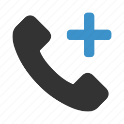 add, call, dial, new, phone, plus, telephone icon