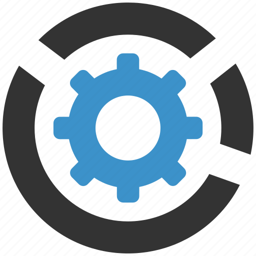 cog, configure, gear, help, process, settings, support icon