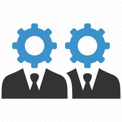 business, cog, configure, group, process, productivity, support icon