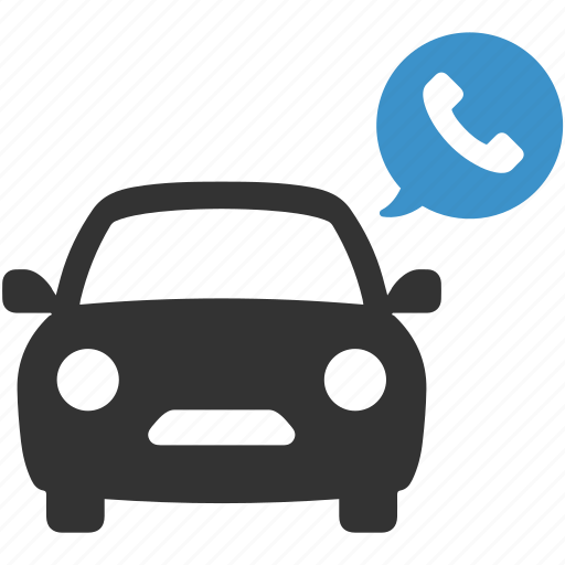 call, car, phone, taxi, transport, transportation icon