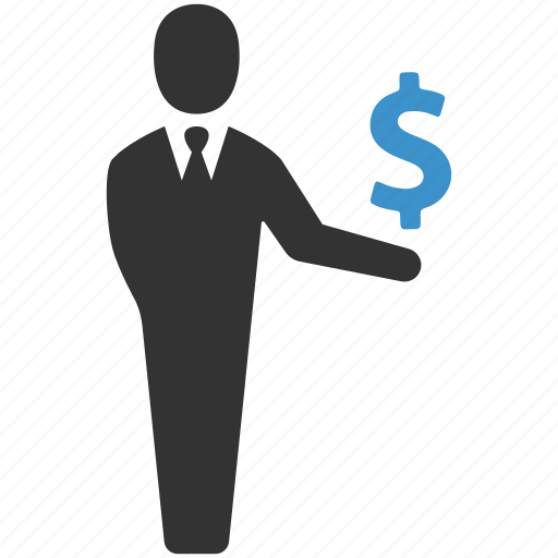 businessman, dollar, earnings, finance, income, money, savings icon