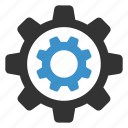 cogs, configure, gear, gears, options, settings, support icon