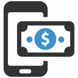 cash, mobile, mobile payment, pay, payment, phone, smartphone icon