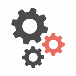 cogs, config, gears, options, preferences, productivity, settings icon