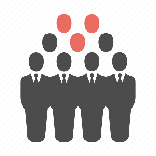 audience, business, group, men, people, team, users icon