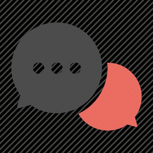bubble, chat, communication, message, messages, talk icon