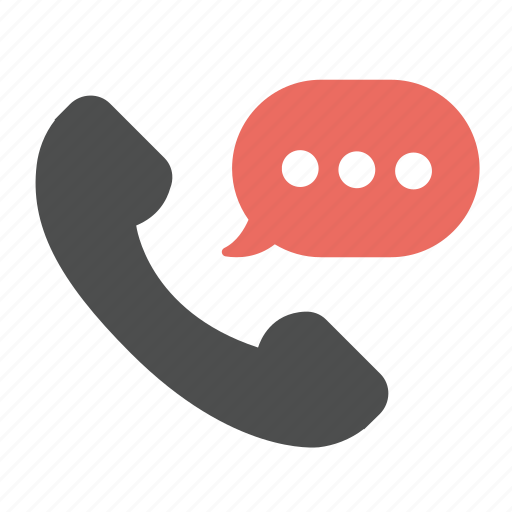 bubble, call, chat, communication, message, phone, talk icon