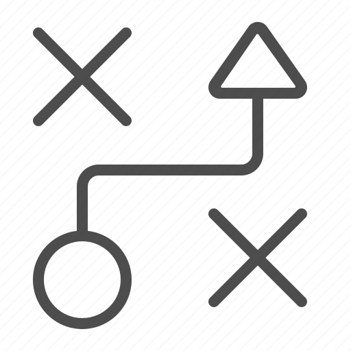 plan, strategy, tactic icon