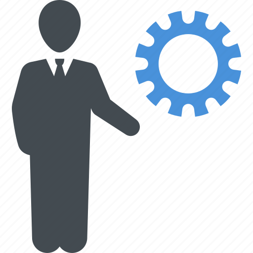 business, development, gear, solutions icon